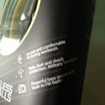 Auricolare stereo Jabra SPORT Bluetooth® da Running corsa ciclismo e sport allaperto unboxing e prima prova su strada durante una giornata piovosa utilizzo anche come radio stereo fm entrocontenuta test drive relizzata da michele ficara 08 150x150 I migliori auricolari bluetooth wireless per il running, la prova di Jabra Sport