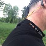 Auricolare stereo Jabra SPORT Bluetooth® da Running corsa ciclismo e sport allaperto unboxing e prima prova su strada durante una giornata piovosa utilizzo anche come radio stereo fm entrocontenuta test drive relizzata da michele ficara 62 150x150 I migliori auricolari bluetooth wireless per il running, la prova di Jabra Sport