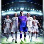 gli atleti indossano la nuova maglia del Real Madrid