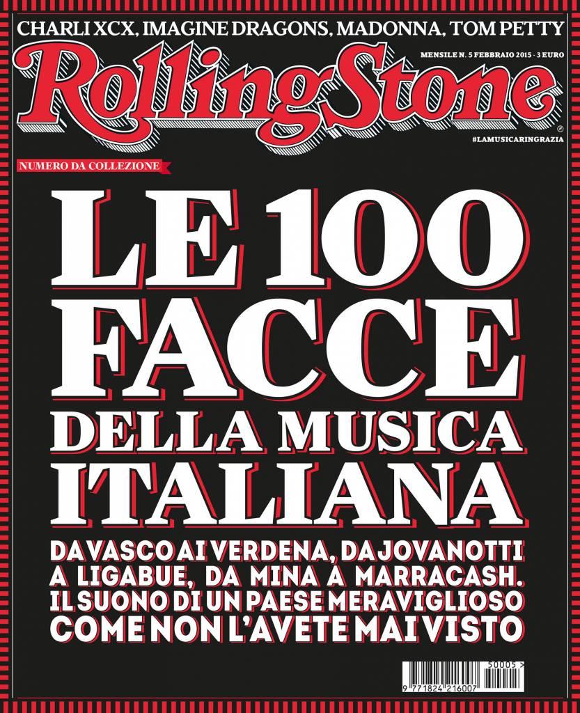 Le 100 facce della musica italiana rolling stone