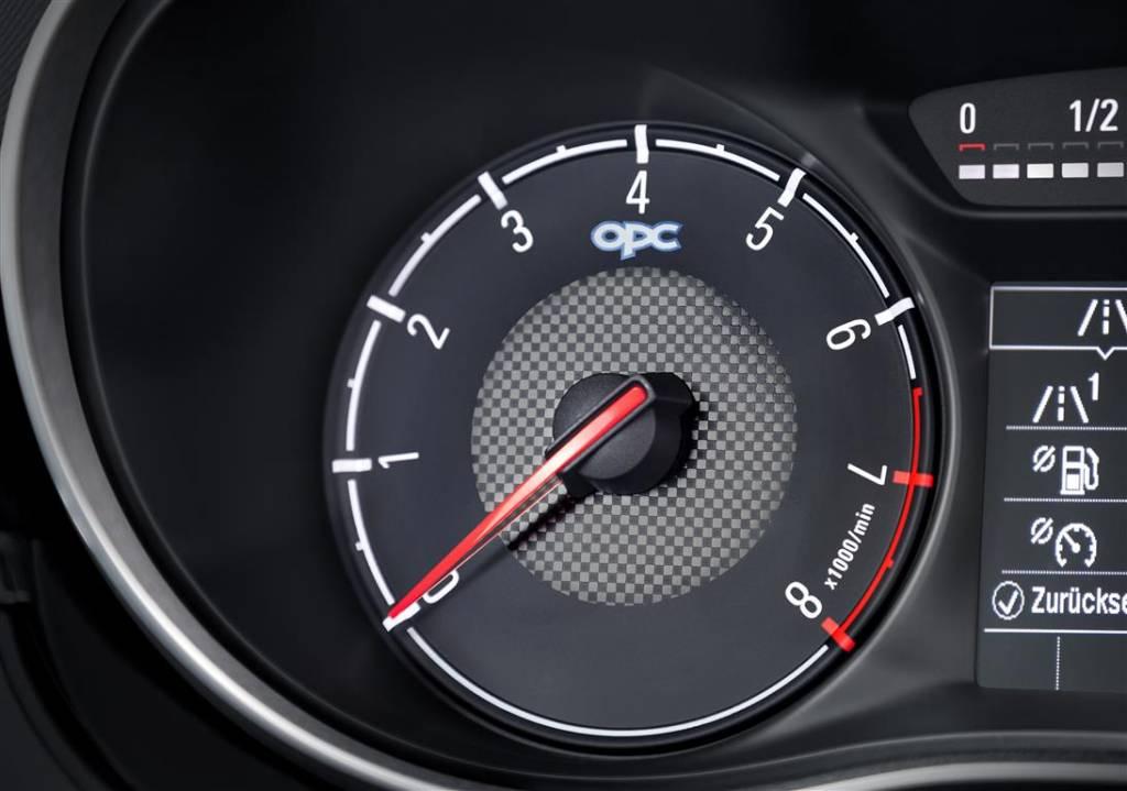 Nuova Opel Corsa OPC 2015, quadro