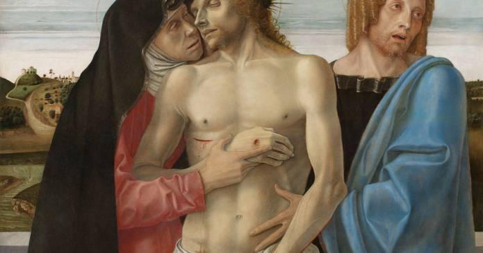 Demetrio Paparoni: Cristo e l'impronta dell'arte