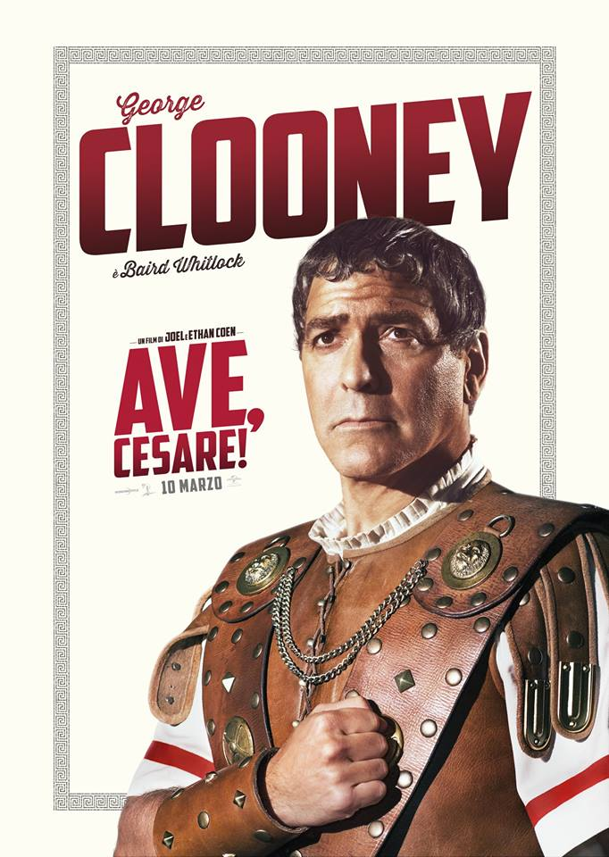 Ave Cesare George Clooney Teaser Character Poster Italia 01