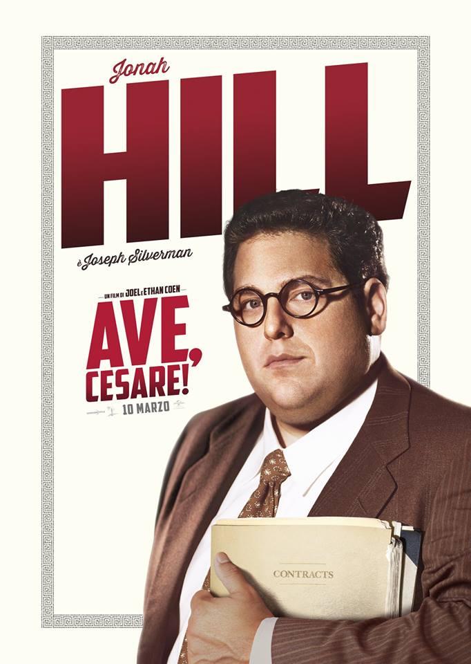Ave Cesare Jonah Hill Teaser Character Poster Italia 01