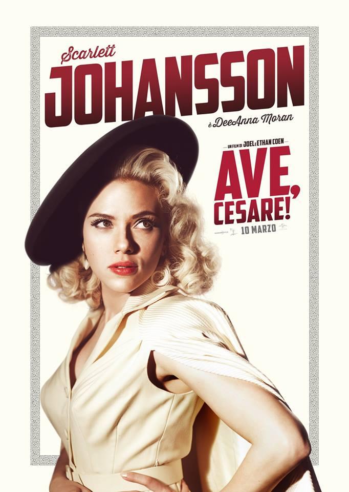 Ave Cesare Scarlett Johansson Teaser Character Poster Italia 01